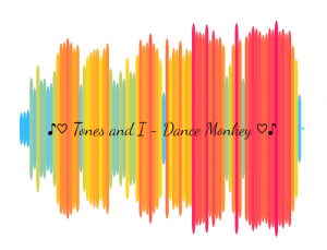 Dancy Monkey Schallwellen Soundviz