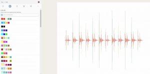 Online Artistik Schallwellengenerator
