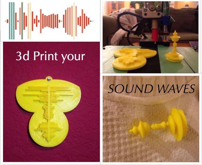 3D-Druck Ihrer Stimme