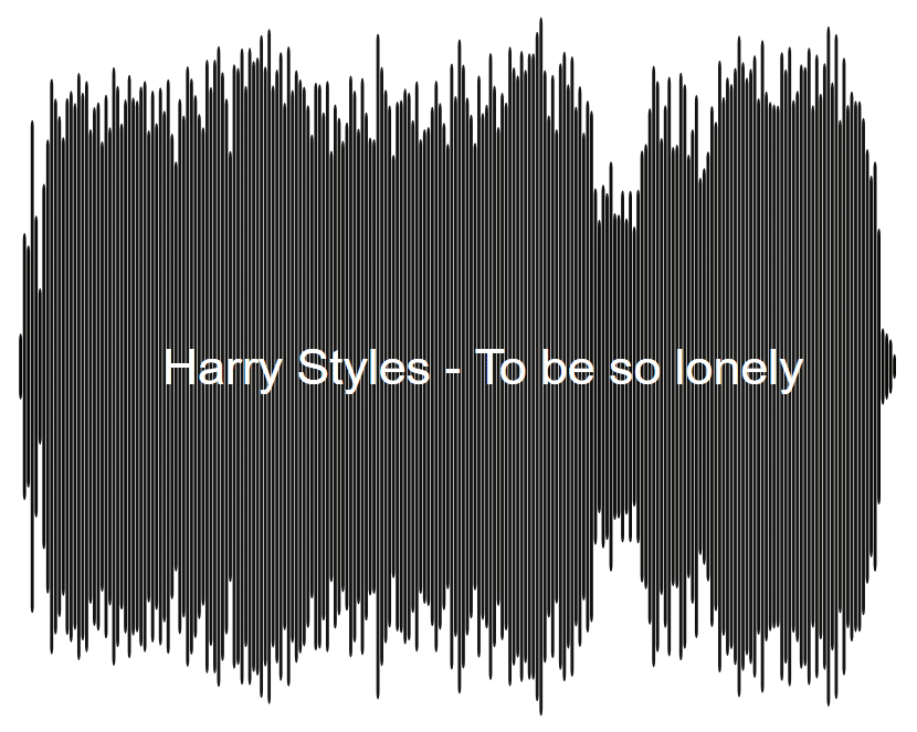 Harry Styles To be so lonely