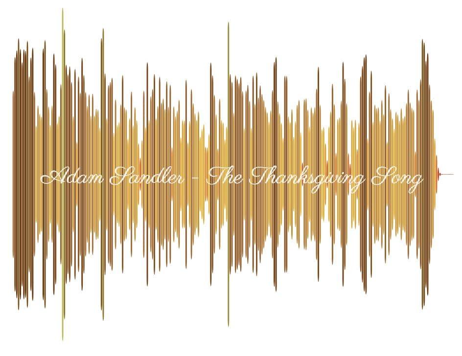Adam Sandler iThe Thanksgiving Song